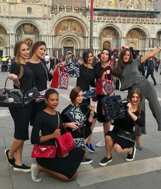 Il lancio delle borse Bvl in piazza San Marco
